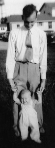 Dad and Sammy Gene 1948