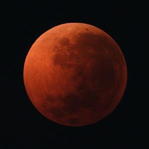 Blood Moon April 3, 1996  Photo: Preston Starr