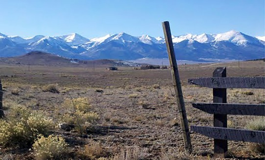Wet Mountain Valley and Sangre de Cristo Range, Colorado Photo credit: Carolyn Matteson