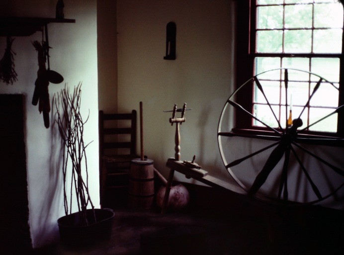 Interior of Mary Todd Lincoln Home, Lexington, KY.  Photo credit: Sam Matteson