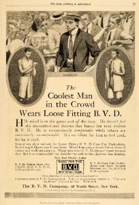 Vintage Ad 1911 Photo source: .amazon.com/Menswear-Vintage-Undershirts-Garments-Clothes
