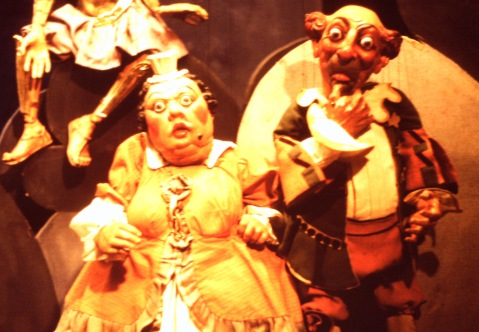 Marionettes in Der Speilzeug Museum in Nuremberg, Germany Photo credit: Sam Matteson 1978