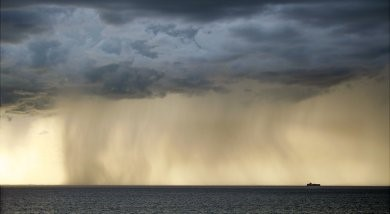 Virga is rain that evaporaates before it reaches the ground. Here a downpour turns to virga in Australia. Photo Credit: http://www.bom.gov.au/storm_spotters/handbook/images/photo15.jpg