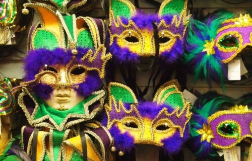 Marti Gras masks