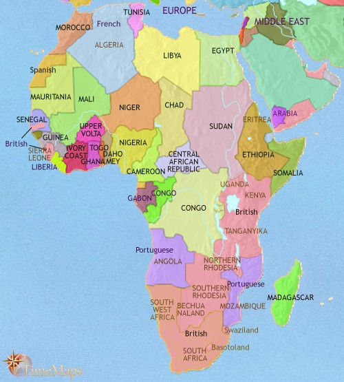 Map Of Africa French.A Map Of Africa Part 1 Sam Matteson